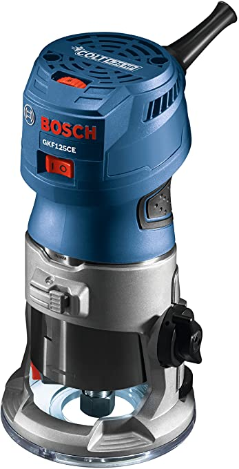 Bosch GKF 125CEN – Palm Router + Palm Router Edge Guide