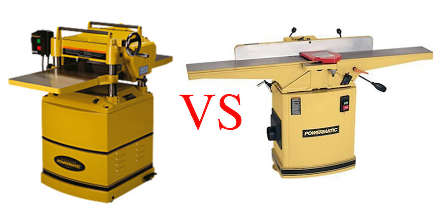 Jointer VS Planer Review: What's The Difference? The Best Jointer And Planer You Should Buy