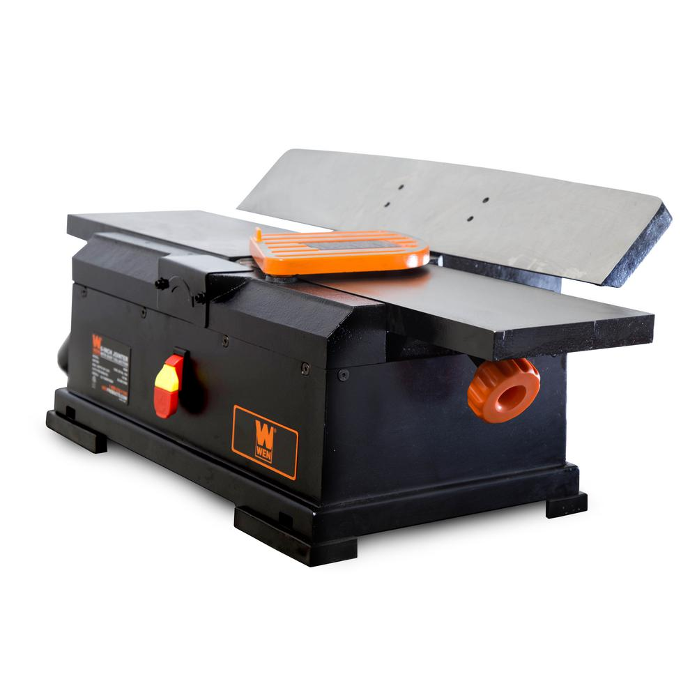 "WEN 6560 6"" 10 Amp Corded Cast Iron Benchtop Jointer"