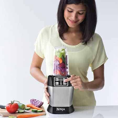 The Ninja Nutri Auto-IQ blender's features